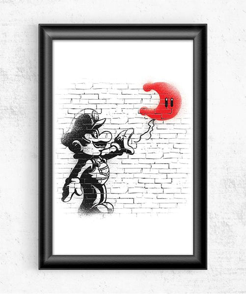 Moon Plumber Posters by COD Designs - Pixel Empire