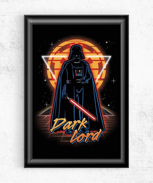 Retro Dark Lord Posters by Olipop - Pixel Empire
