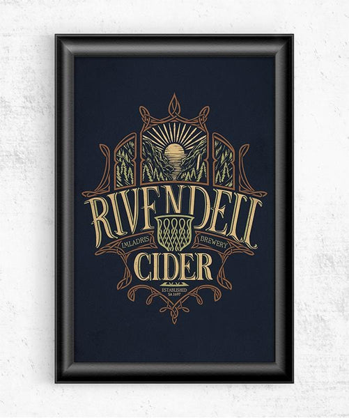 Rivendell Cider Posters by Cory Freeman Design - Pixel Empire