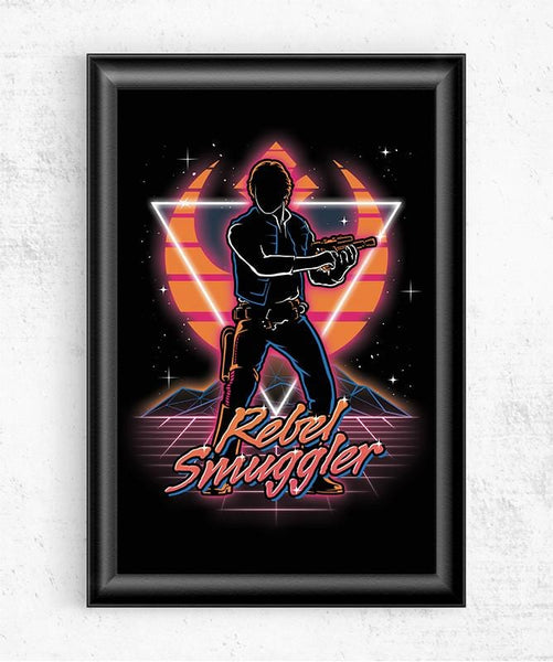 Retro Rebel Smuggler Posters by Olipop - Pixel Empire
