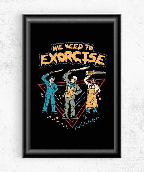 Let's Exorcise Posters by Vincent Trinidad - Pixel Empire