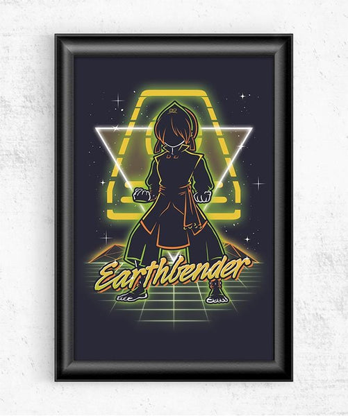 Retro Earthbender Posters by Olipop - Pixel Empire