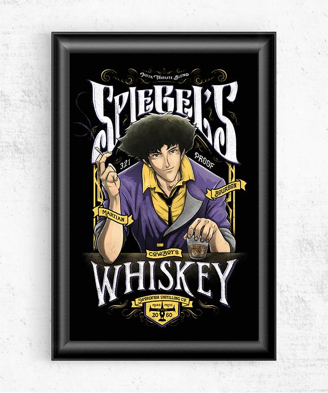 Spiegels Whiskey Posters by Barrett Biggers - Pixel Empire