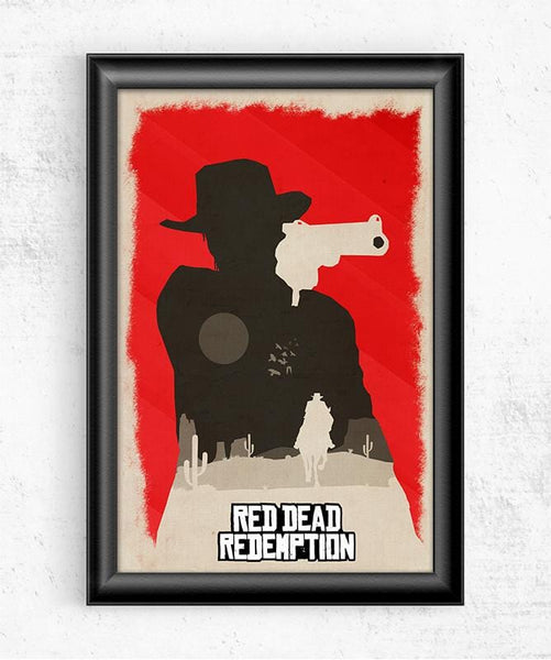 Red Dead Redemption Posters by Felix Tindall - Pixel Empire