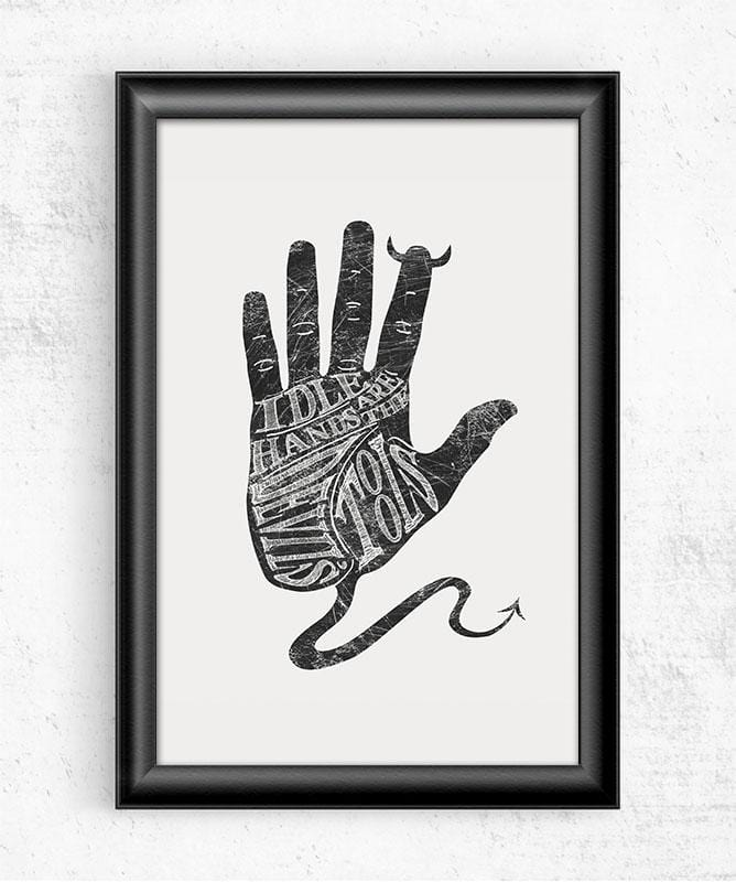 Idle Hands Posters by Dianne Delahunty - Pixel Empire