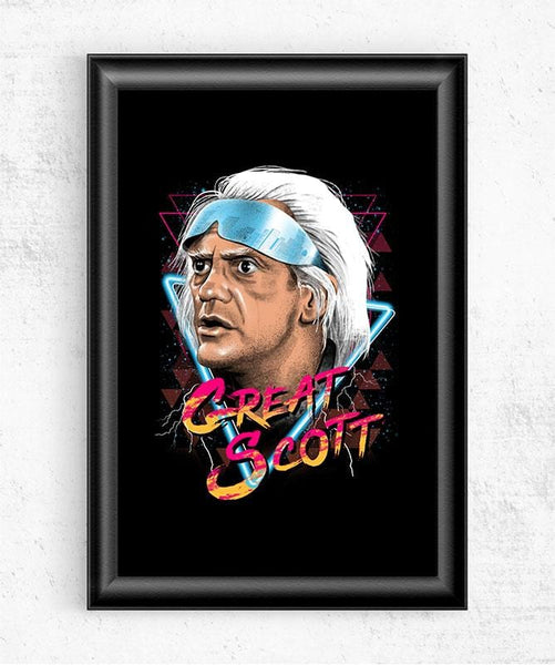 Great Scott Posters by Vincent Trinidad - Pixel Empire