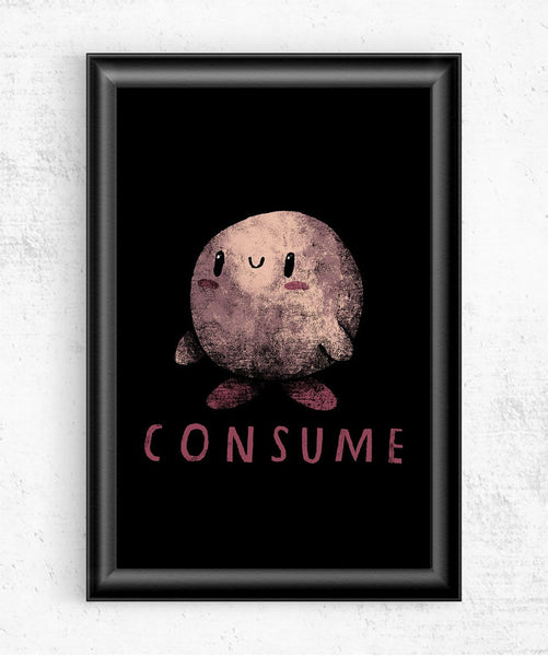 Consume Posters by Louis Roskosch - Pixel Empire
