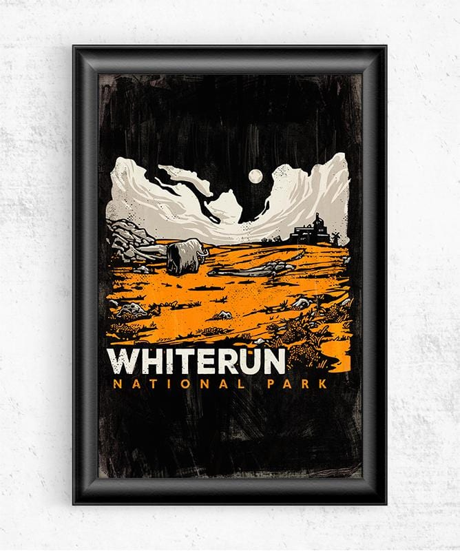 Whiterun Posters by Ronan Lynam - Pixel Empire