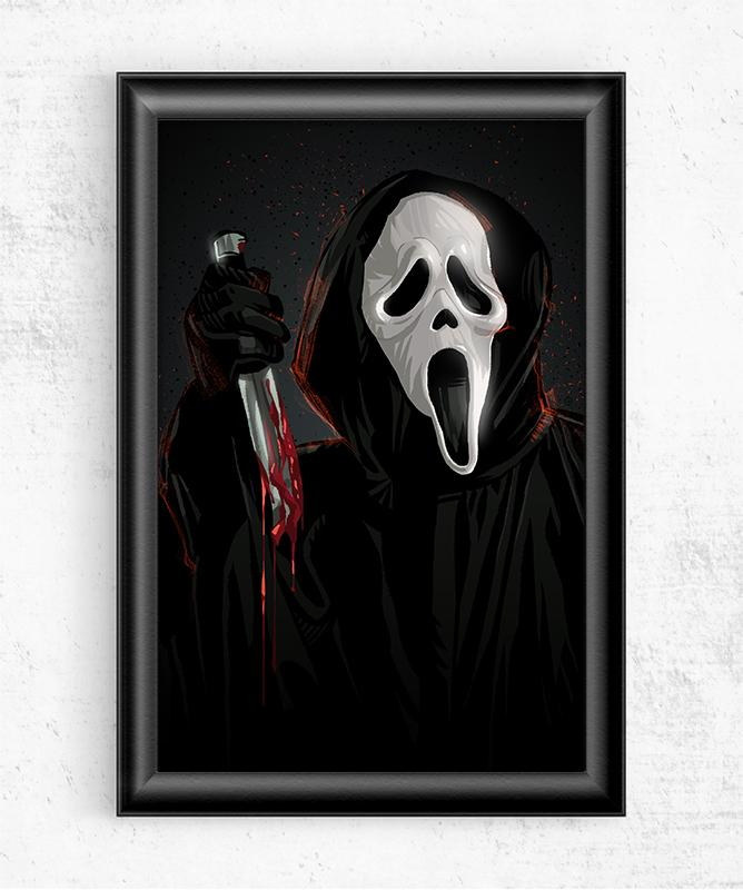 Ghostface Posters by Nikita Abakumov - Pixel Empire