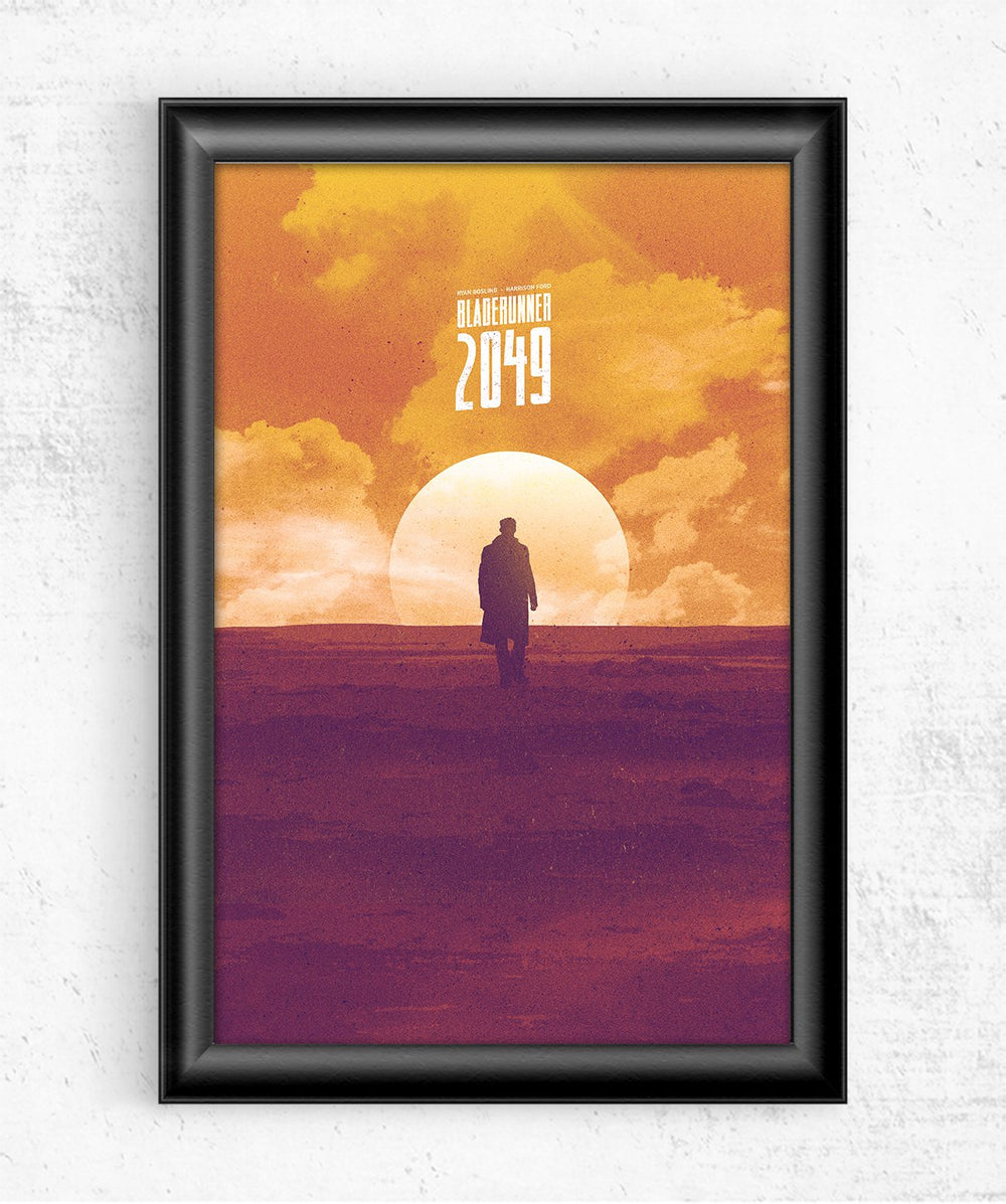 2049 Sunset Posters by Mbdsgns - Pixel Empire