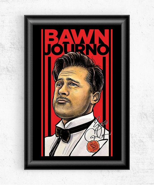 Bawn Journo Posters by Barrett Biggers - Pixel Empire