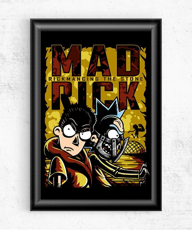 Mad Rick Posters by COD Designs - Pixel Empire