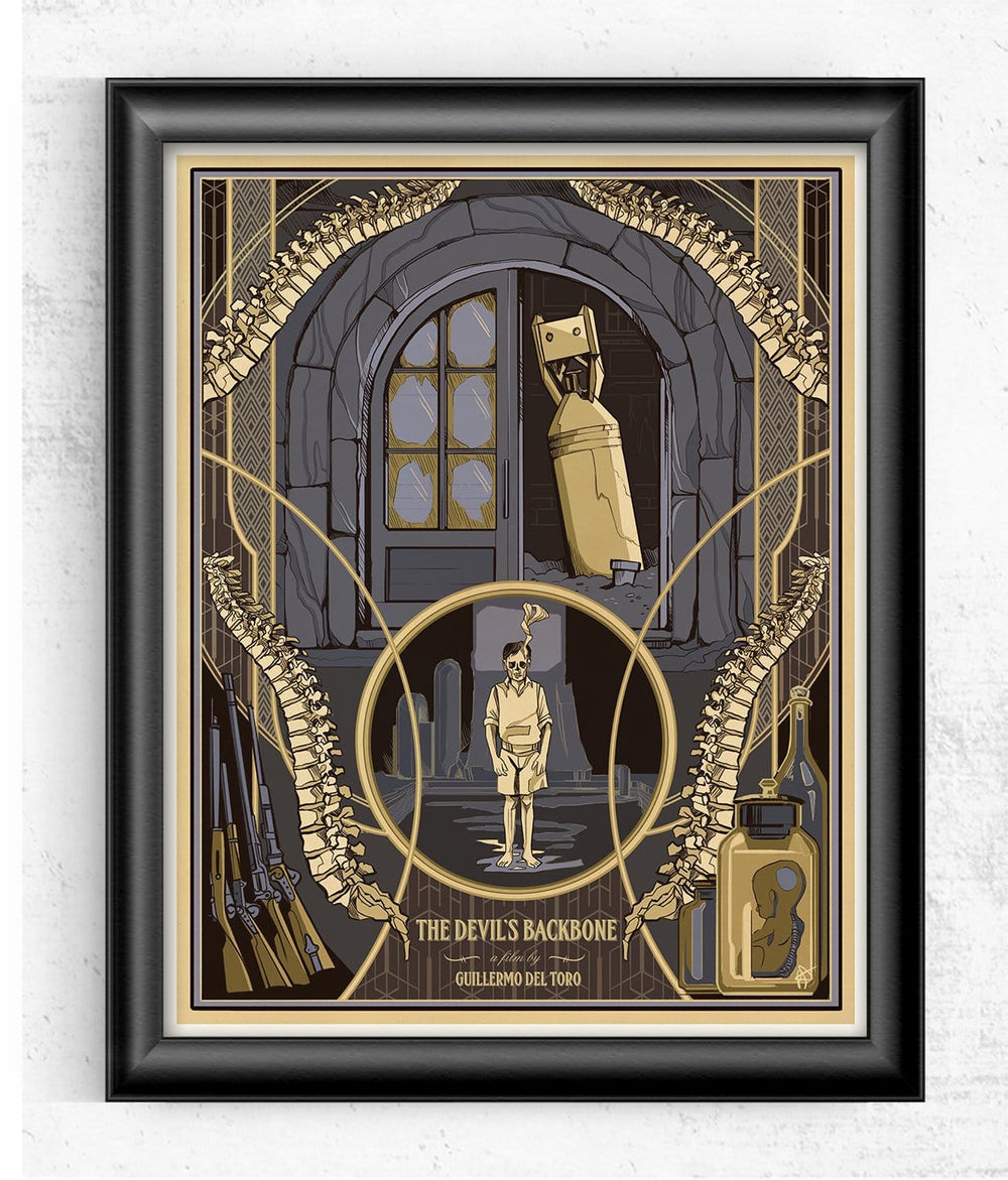 Devils Backbone - Guillermo del Toro Limited Print Posters by Beverly Arce - Pixel Empire
