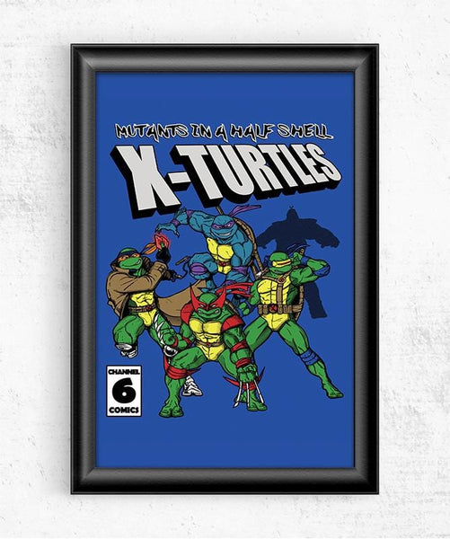X Turtles Posters by Legendary Phoenix - Pixel Empire