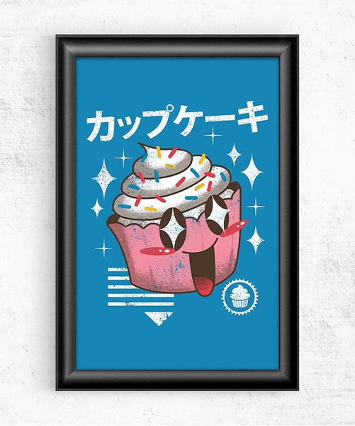 Kawaii Cupcake Posters by Vincent Trinidad - Pixel Empire
