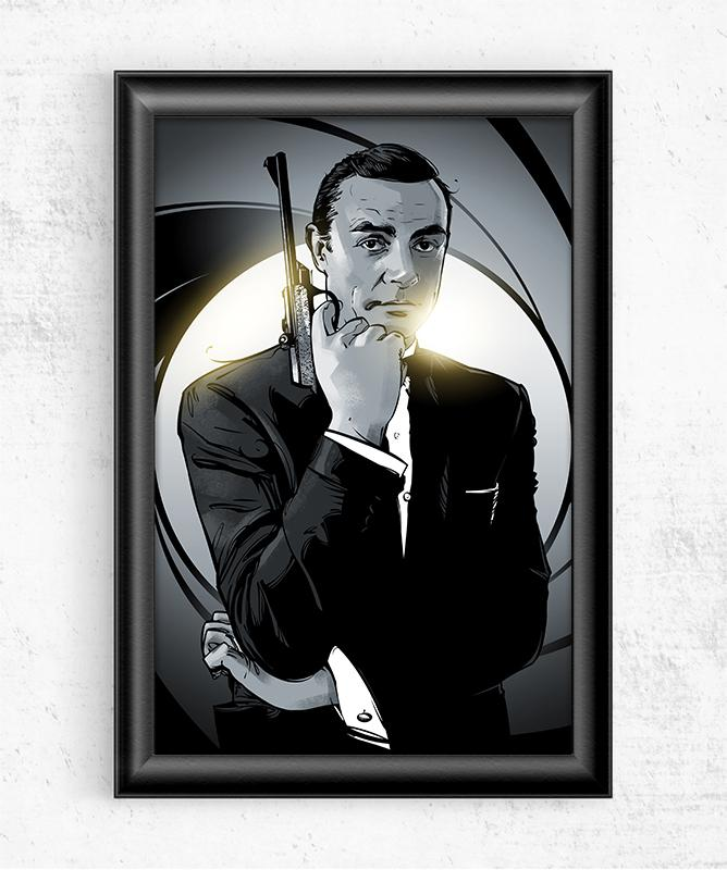 Bond, James Bond Posters by Nikita Abakumov - Pixel Empire