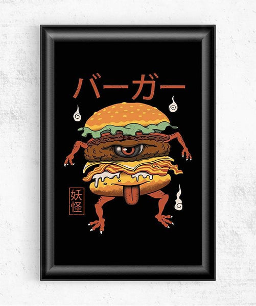 Yokai Burger Posters by Vincent Trinidad - Pixel Empire