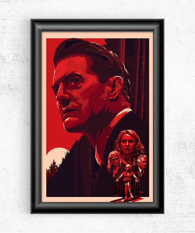 Twin Peaks Posters by The Usher Designs - Pixel Empire