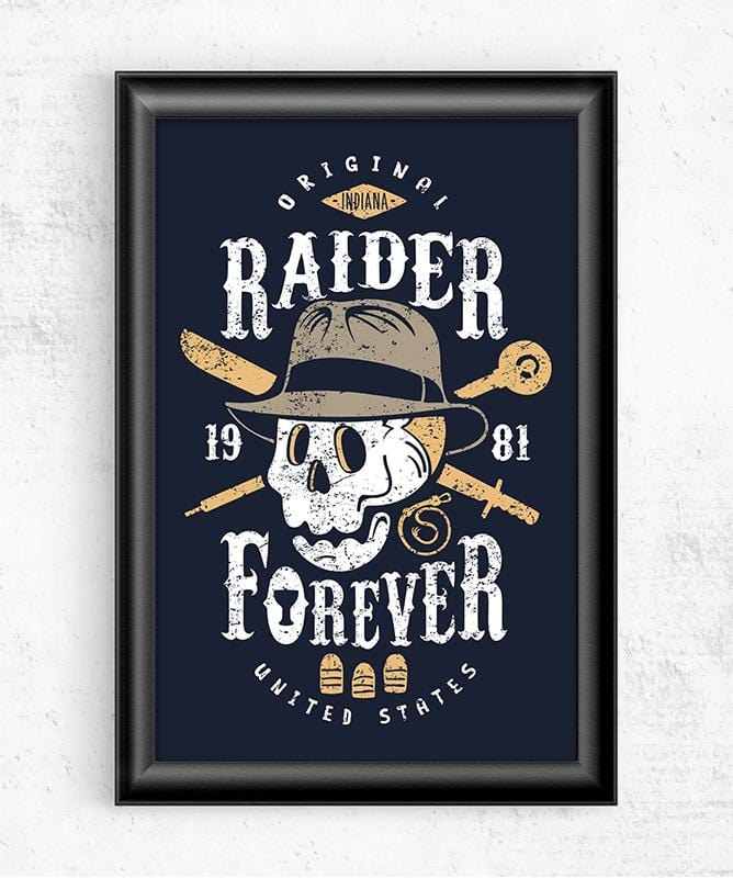 Raider Forever Posters by Olipop - Pixel Empire