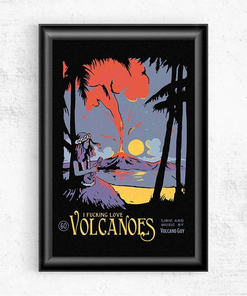 Volcanoes Posters by Mathiole - Pixel Empire