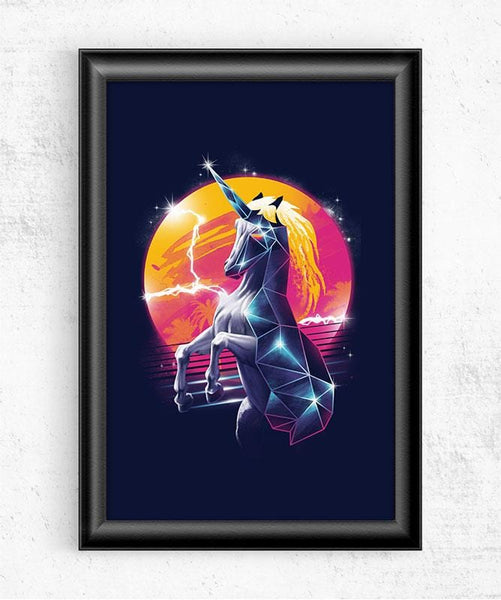 Rad Unicorn Posters by Vincent Trinidad - Pixel Empire