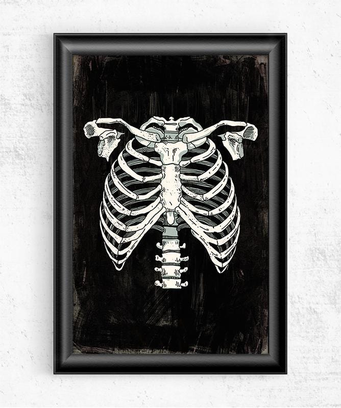 Ribcage Posters by Ronan Lynam - Pixel Empire