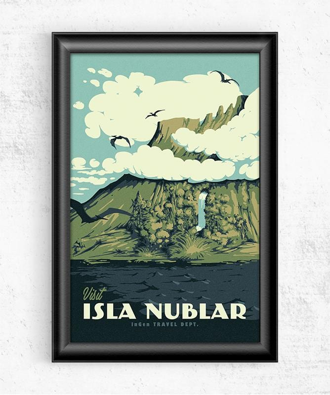 Visit Isla Nublar Posters by Mathiole - Pixel Empire