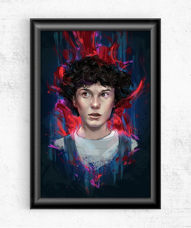 Stranger Things Eleven Posters by Nikita Abakumov - Pixel Empire