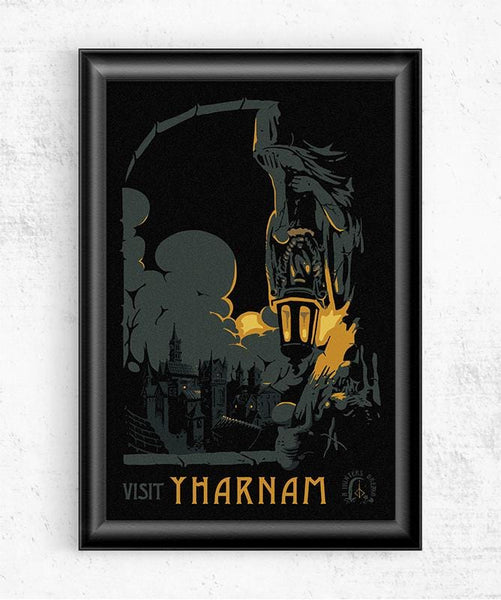 Visit Yharnam Posters by Mathiole - Pixel Empire
