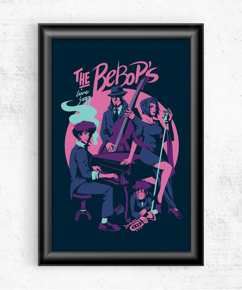 The Bebop's Posters by Ilustrata - Pixel Empire
