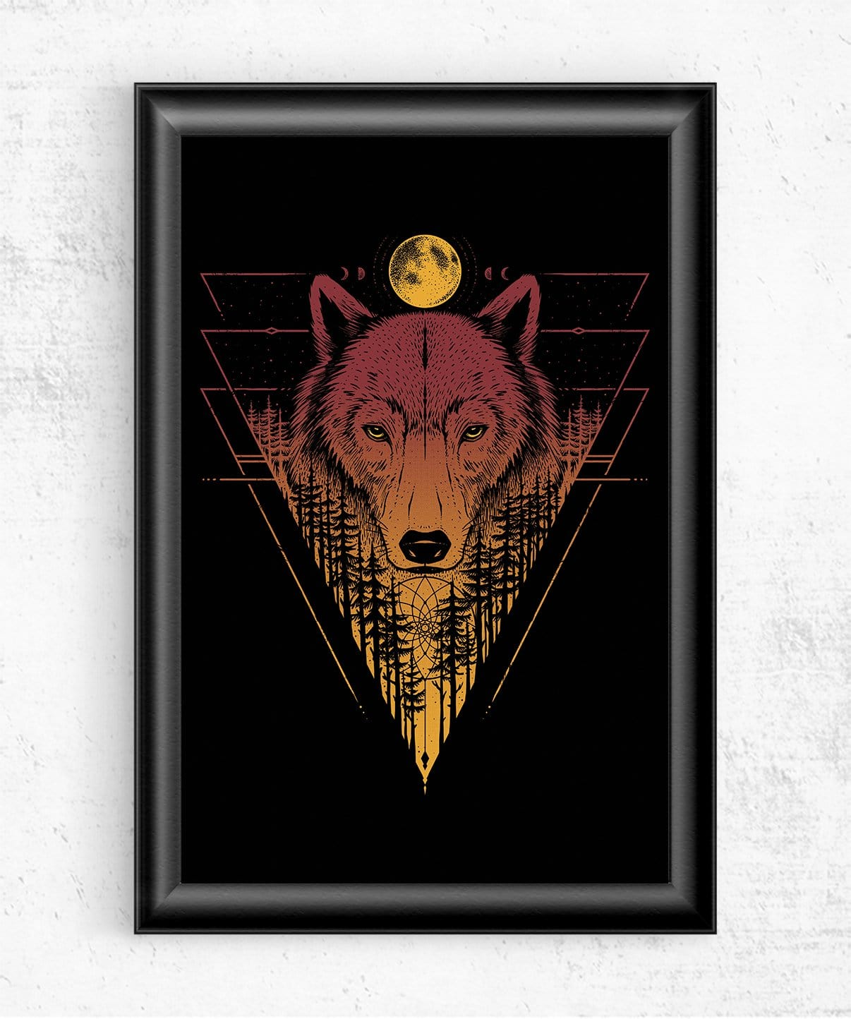 Wild Wolf Posters by StudioM6 - Pixel Empire
