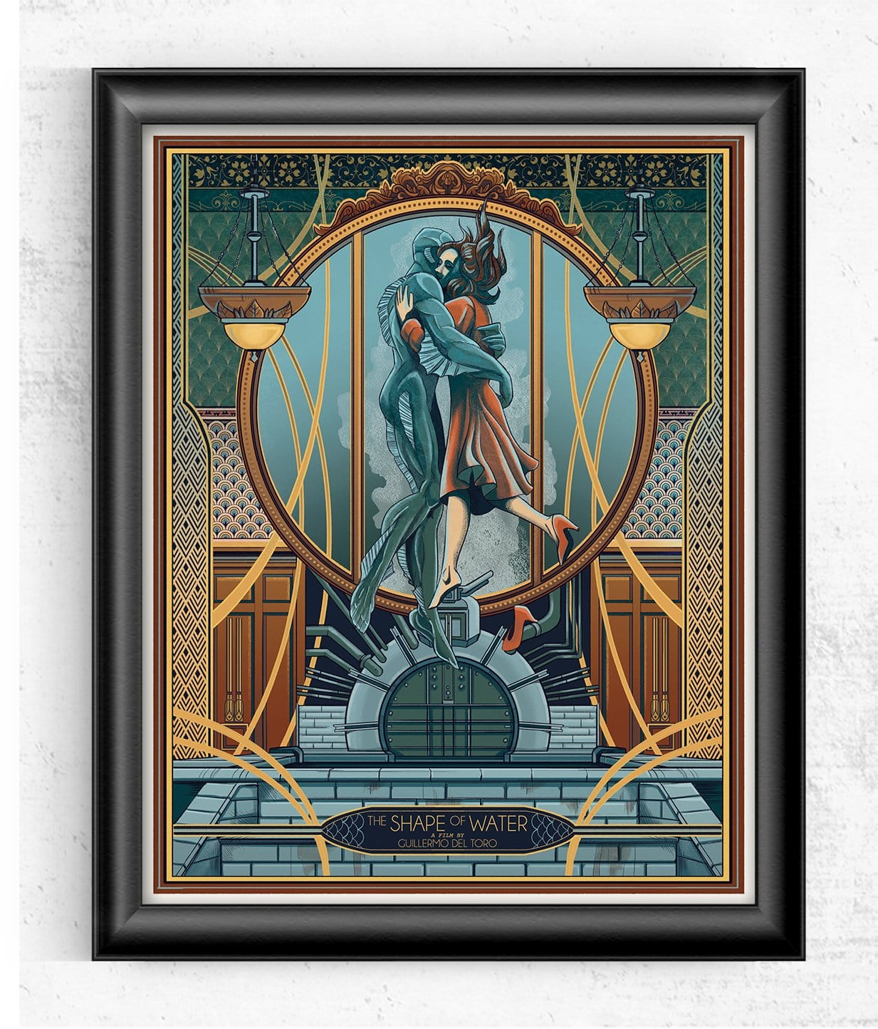 Shape of Water - Guillermo del Toro Limited Print Posters by Beverly Arce - Pixel Empire