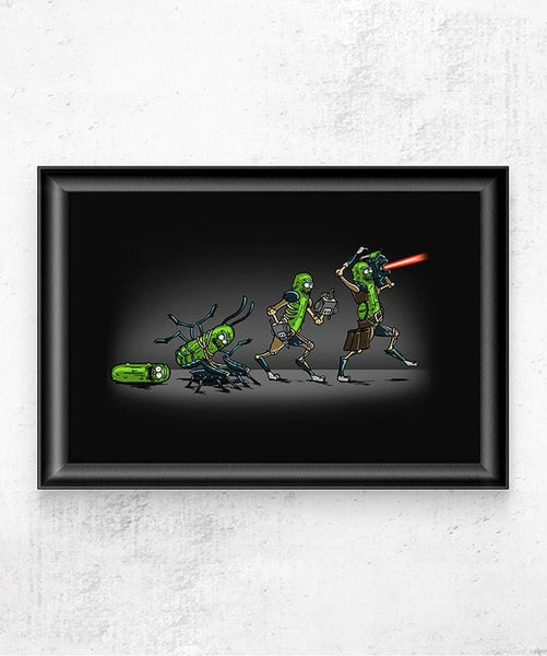 Pickle Evolution Posters by COD Designs - Pixel Empire