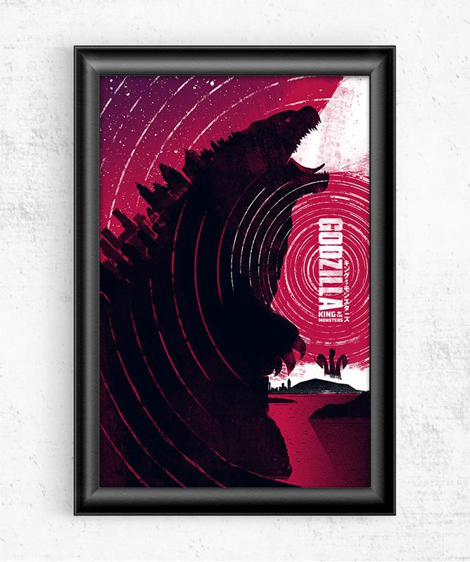 Godzilla - King of the Monsters Posters by Felix Tindall - Pixel Empire