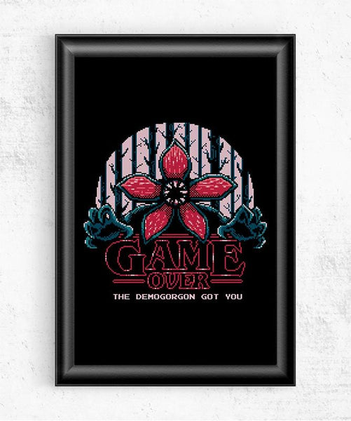 Demogorgon Got You Posters by Typhoonic - Pixel Empire