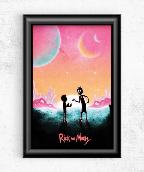 Rick & Morty Posters by Geeky Ninja - Pixel Empire