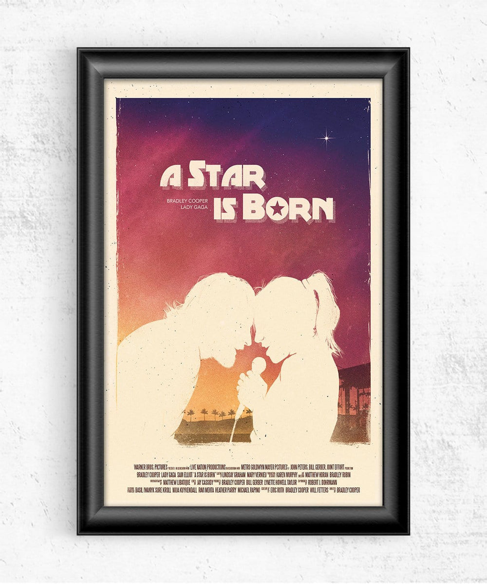 A Star Is Born Posters by Geeky Ninja - Pixel Empire