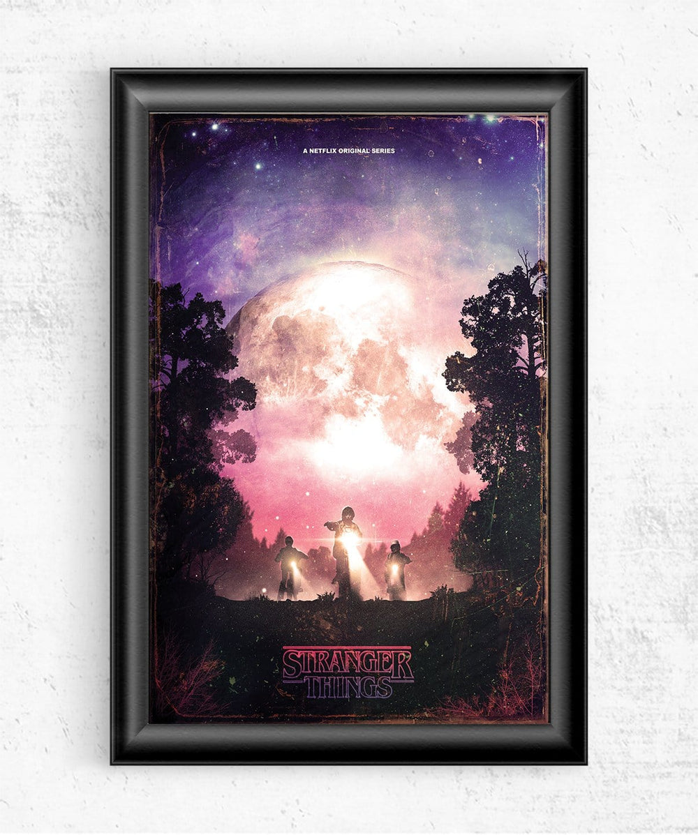 Stranger Things Posters by Geeky Ninja - Pixel Empire