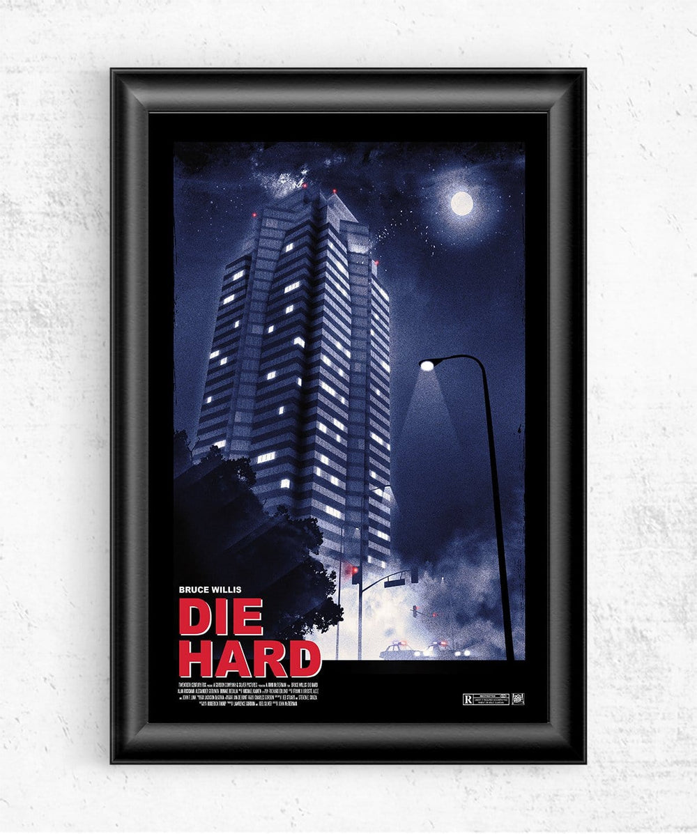 Die Hard Posters by Geeky Ninja - Pixel Empire