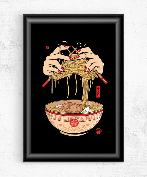 Noodle Knitting Posters by Grant Shepley - Pixel Empire