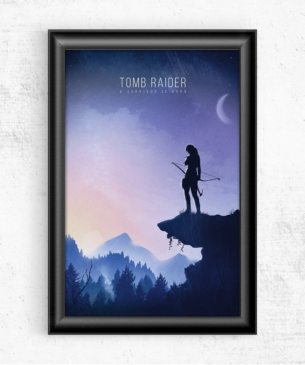 Tomb Raider Posters by Geeky Ninja - Pixel Empire