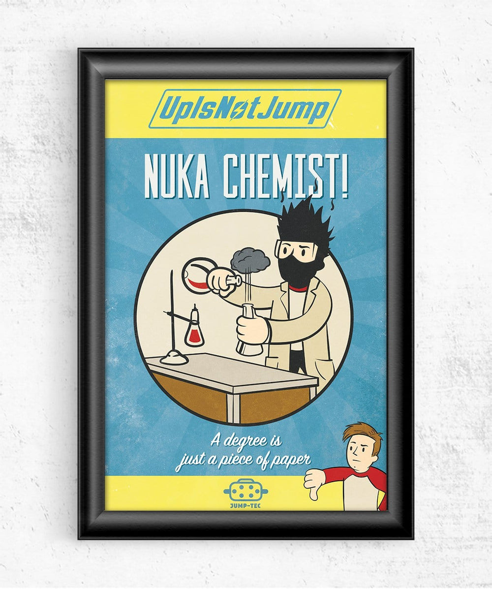 Nuka Chemist Posters by UpIsNotJump - Pixel Empire