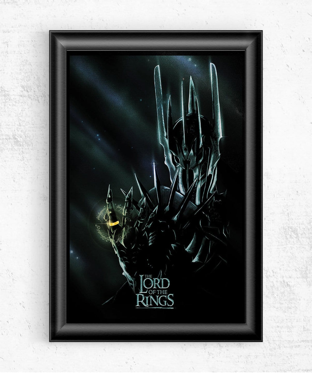 Lord Of The Rings Posters by Geeky Ninja - Pixel Empire