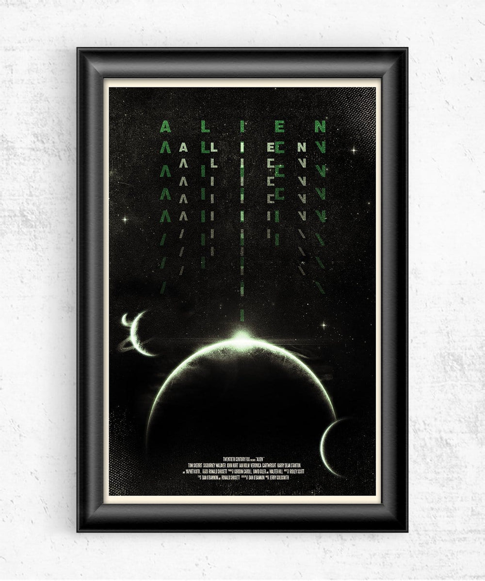 Alien Posters by Geeky Ninja - Pixel Empire