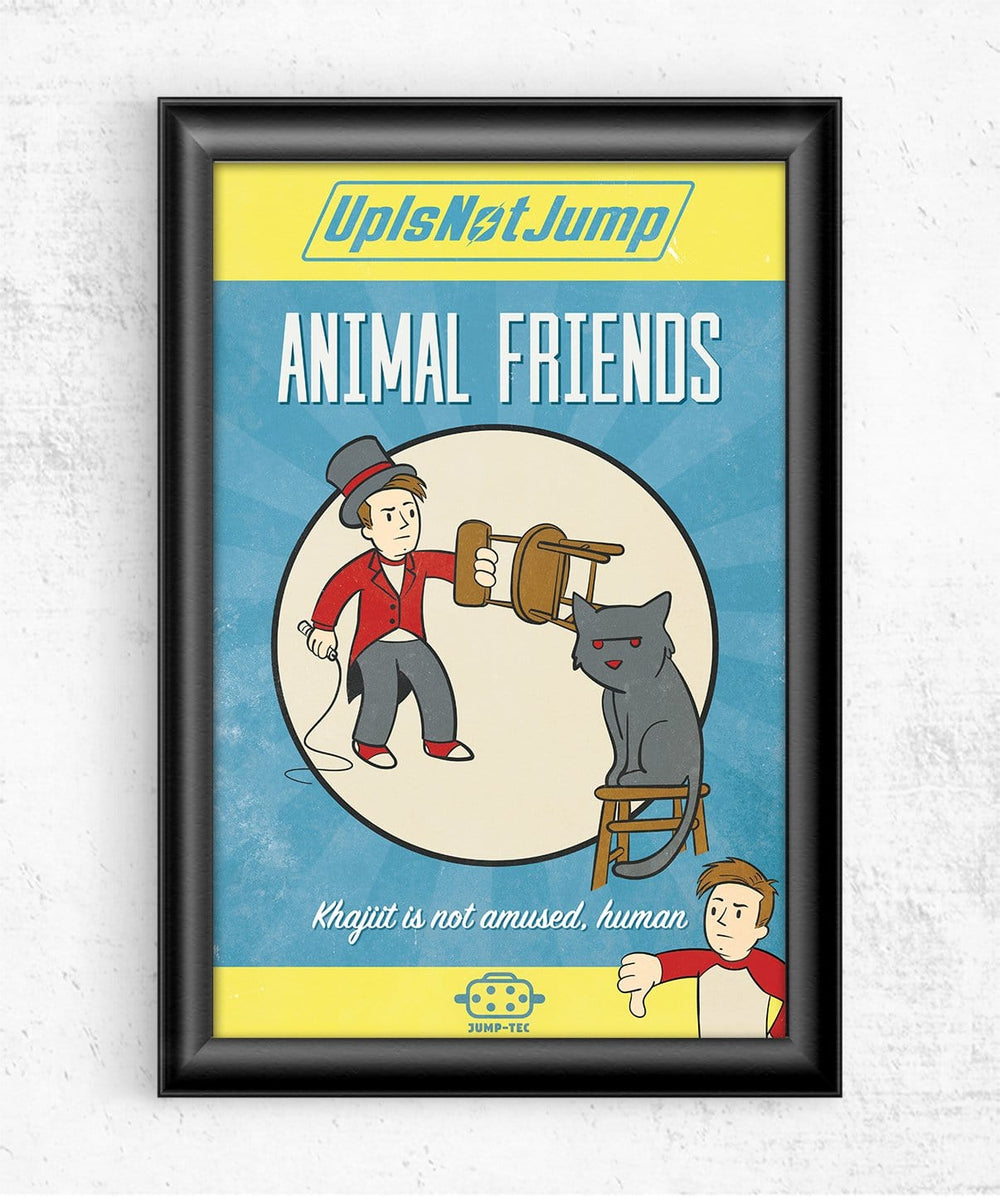Animal Friends Posters by UpIsNotJump - Pixel Empire