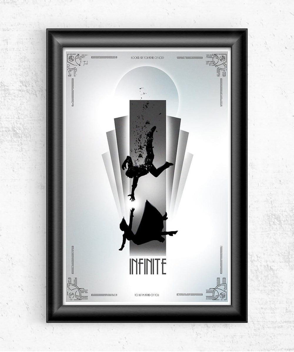 Infinite Posters by Geeky Ninja - Pixel Empire