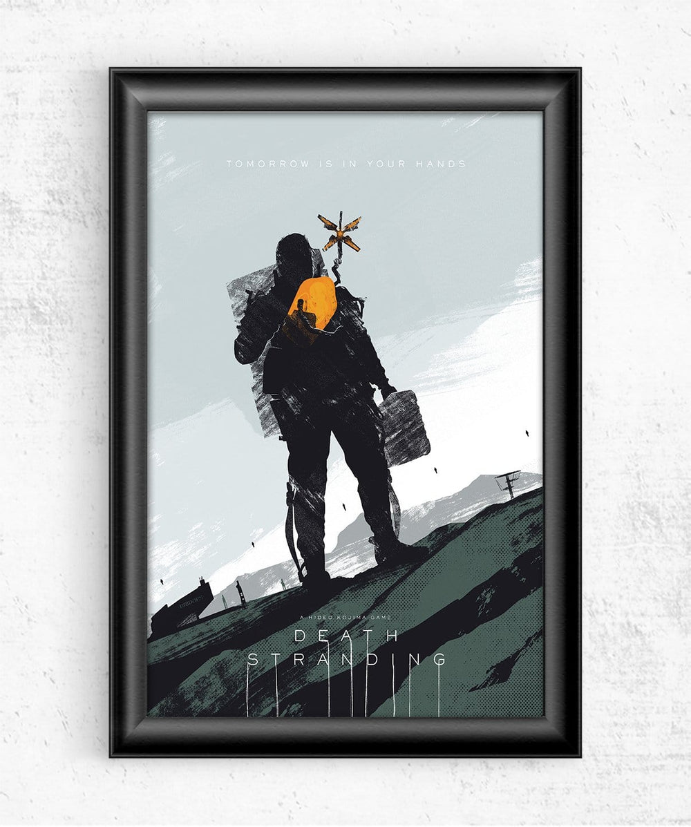 Death Stranding Posters by Felix Tindall - Pixel Empire