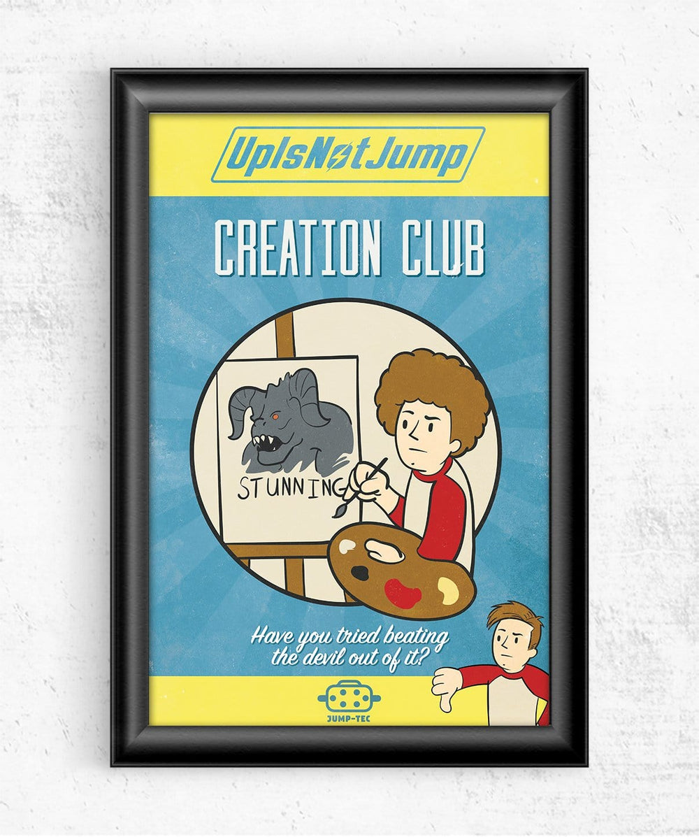 Creation Club Posters by UpIsNotJump - Pixel Empire