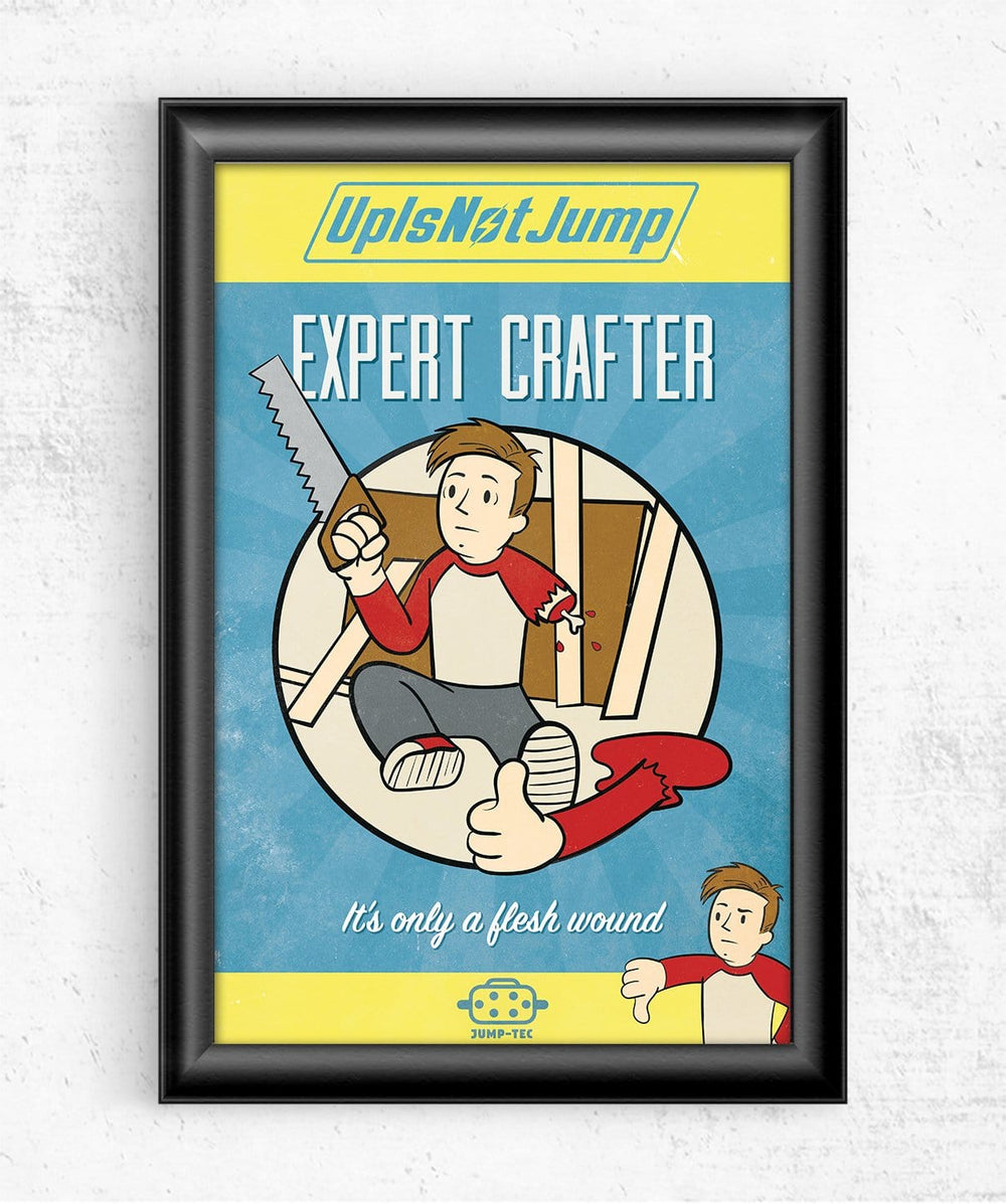 Expert Crafter Posters by UpIsNotJump - Pixel Empire