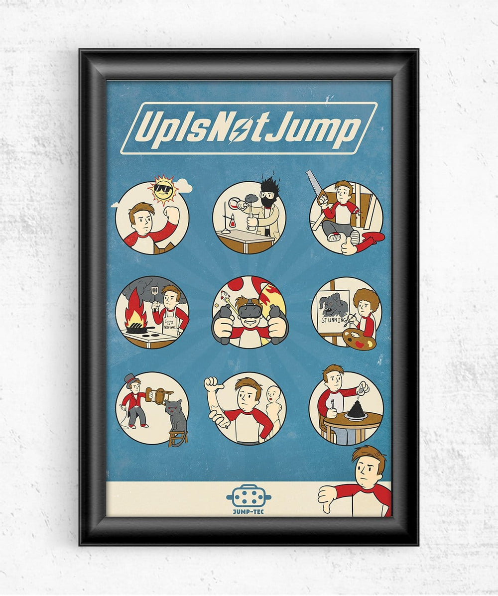 Jump-tec Guide Posters by UpIsNotJump - Pixel Empire